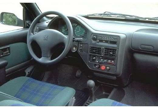 PEUGEOT 106 II hatchback tablica rozdzielcza