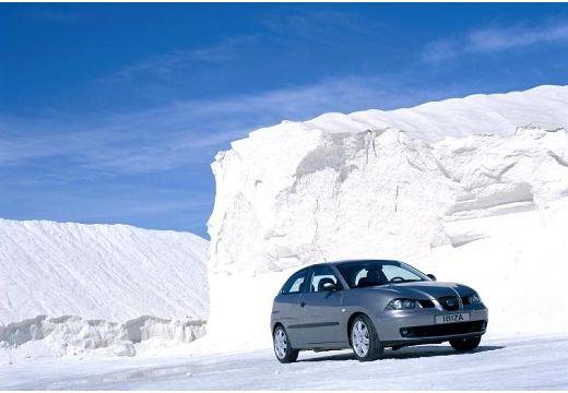 SEAT Ibiza IV hatchback szary ciemny przedni prawy