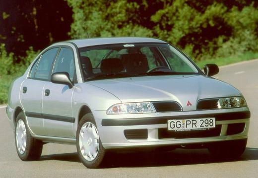 MITSUBISHI Carisma II hatchback silver grey przedni prawy