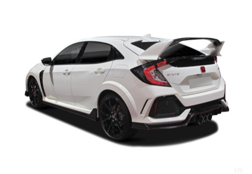 HONDA Civic X hatchback tylny lewy
