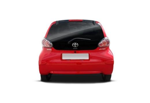 Toyota Aygo III hatchback tylny