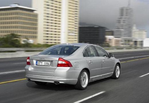 VOLVO S80 III sedan silver grey tylny prawy