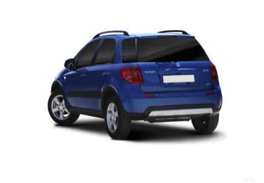 SUZUKI SX4 II hatchback niebieski jasny tylny lewy