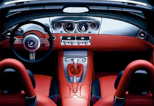 BMW Z8 roadster tablica rozdzielcza