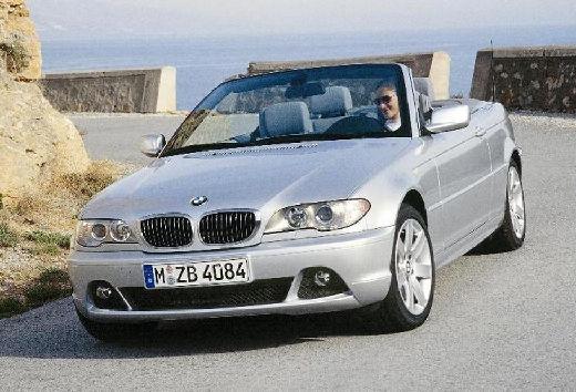 BMW Seria 3 kabriolet silver grey przedni lewy