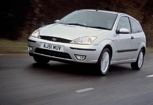 FORD Focus II hatchback silver grey przedni lewy