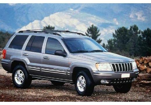 JEEP Grand Cherokee II kombi silver grey przedni prawy
