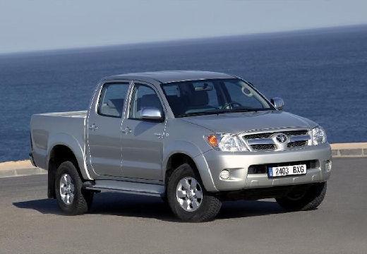 Toyota HiLux III pickup silver grey przedni prawy
