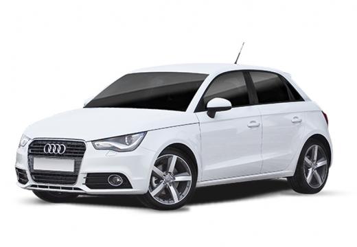 AUDI A1 hatchback biały