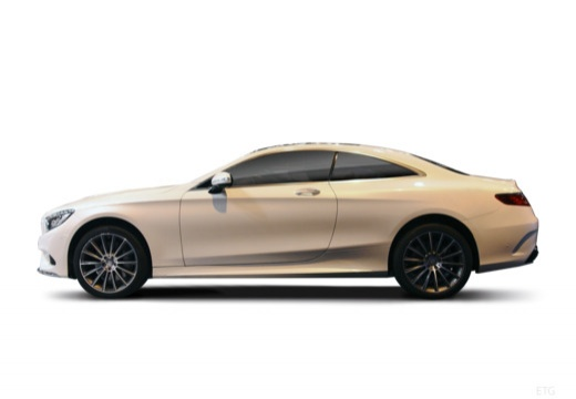 MERCEDES-BENZ Klasa S Coupe I coupe boczny lewy