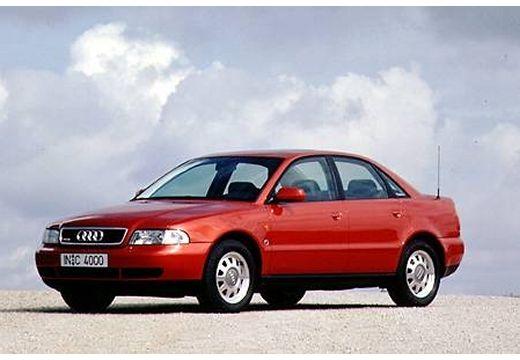 AUDI A4 B5 sedan bordeaux (czerwony ciemny) przedni lewy