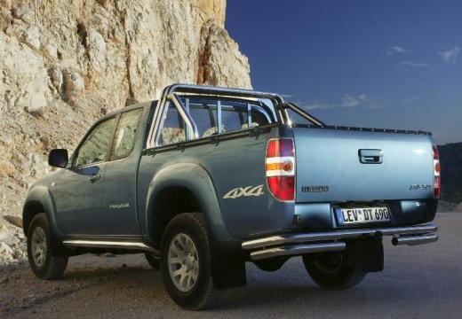 MAZDA B-seria pickup niebieski jasny tylny lewy