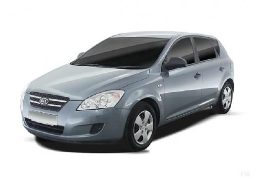 KIA Ceed I hatchback silver grey