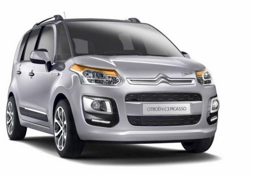 CITROEN C3 Picasso II hatchback silver grey przedni prawy