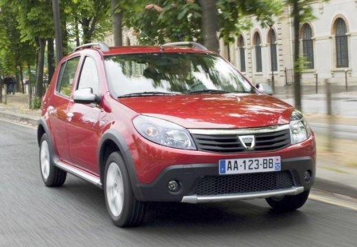DACIA Sandero I hatchback czerwony jasny przedni prawy