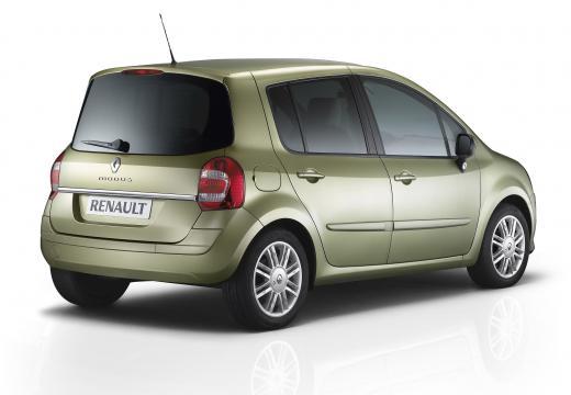 RENAULT Modus II hatchback zielony tylny prawy