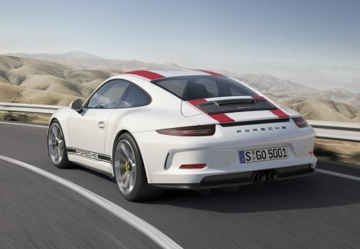 PORSCHE 911 991 I coupe biały tylny lewy