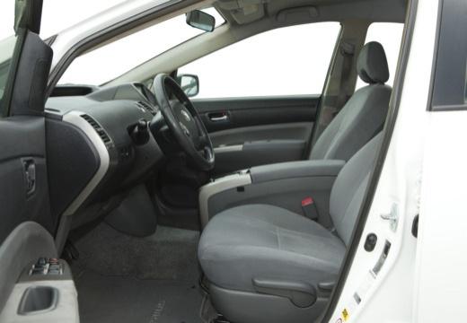 Toyota Prius I hatchback biały wnętrze