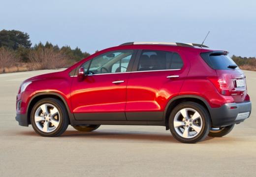 CHEVROLET Trax hatchback czerwony jasny tylny lewy