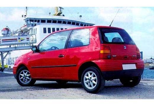 SEAT Arosa I hatchback czerwony jasny tylny lewy