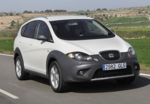 SEAT Altea XL II hatchback biały przedni prawy