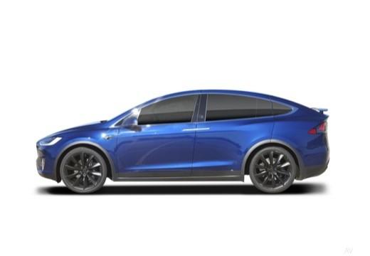 TESLA Model X I hatchback boczny lewy
