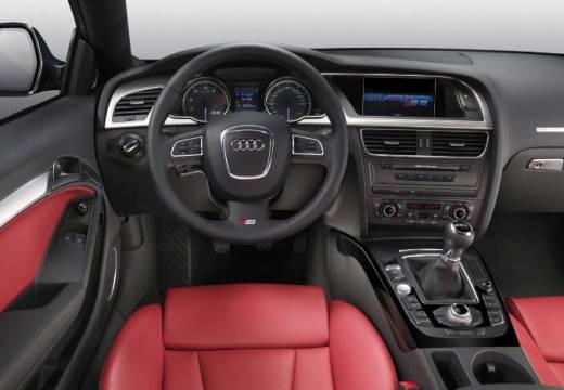 AUDI A5 I coupe silver grey tablica rozdzielcza
