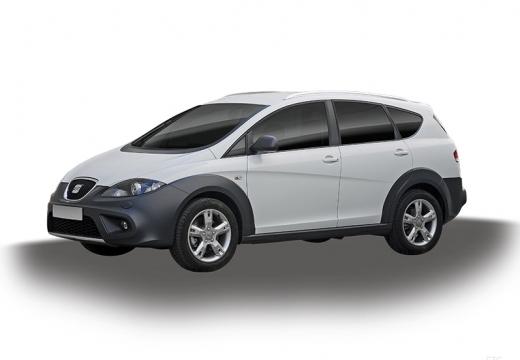 SEAT Altea XL II hatchback biały