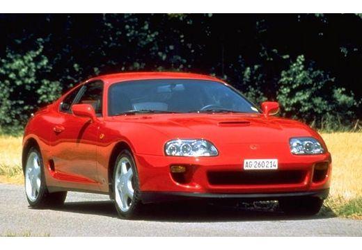 Toyota Supra coupe przedni prawy