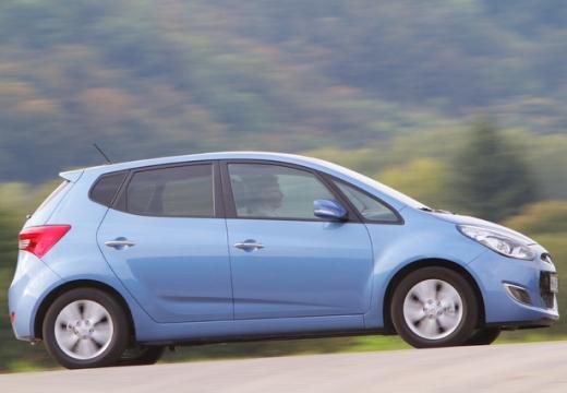 HYUNDAI ix20 I hatchback niebieski jasny boczny prawy