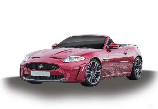 JAGUAR XK Convertible II kabriolet czerwony jasny