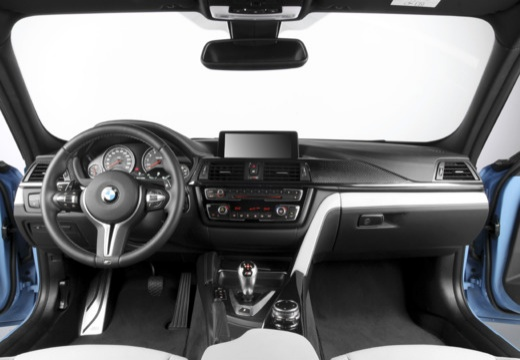 BMW Seria 3 F30 sedan tablica rozdzielcza