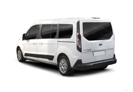 FORD Tourneo Connect kombi tylny lewy