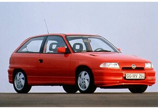 OPEL Astra II hatchback przedni prawy