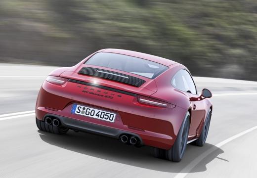 PORSCHE 911 991 I coupe czerwony jasny tylny prawy