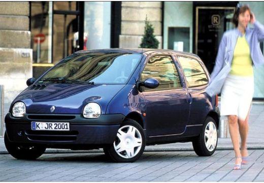 RENAULT Twingo II hatchback niebieski jasny przedni lewy
