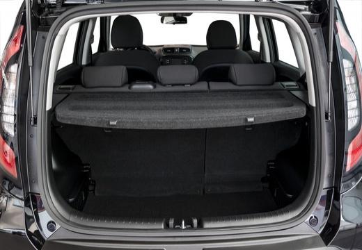 KIA Soul III hatchback przestrzeń załadunkowa