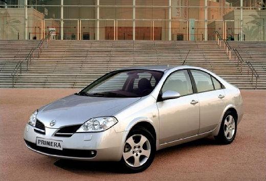 NISSAN Primera V sedan silver grey przedni lewy