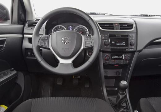 SUZUKI Swift III hatchback czerwony jasny tablica rozdzielcza