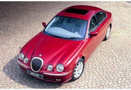 JAGUAR S-Type I sedan bordeaux (czerwony ciemny) przedni lewy