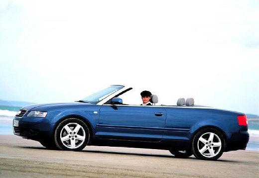 AUDI A4 Cabriolet 8H I kabriolet czarny przedni lewy