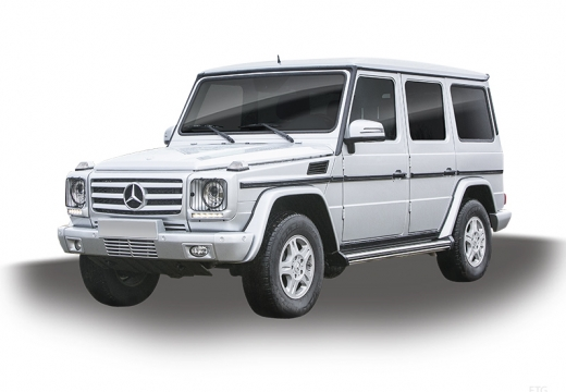 MERCEDES-BENZ Klasa G Soft top 463 IV kombi silver grey