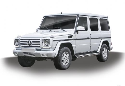 MERCEDES-BENZ Klasa G Soft top kombi silver grey