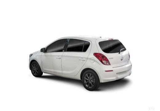 HYUNDAI i20 II hatchback biały tylny lewy