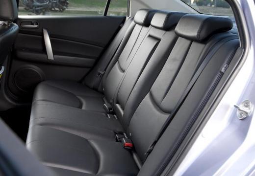 MAZDA 6 III sedan biały wnętrze