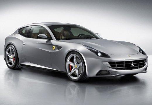 FERRARI FF I coupe silver grey przedni prawy