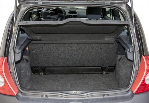 RENAULT Clio II III hatchback czarny przestrzeń załadunkowa