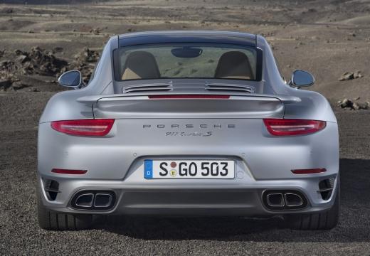 PORSCHE 911 991 I coupe silver grey tylny