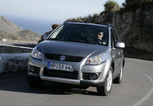 SUZUKI SX4 hatchback silver grey przedni lewy