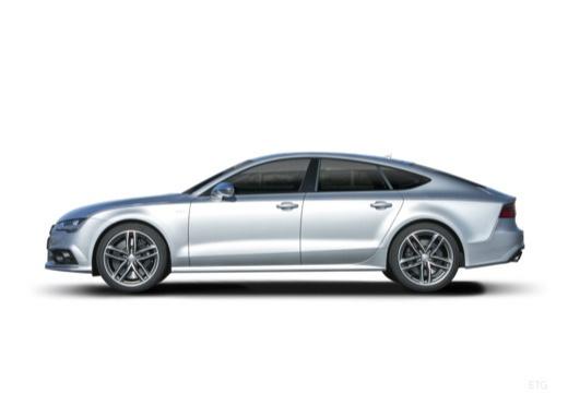 AUDI A7 Sportback II hatchback boczny lewy